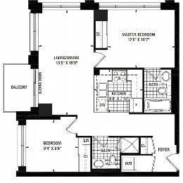 Floor Plans for London on the Esplanade; 38 The Esplanade & 1 Scott St